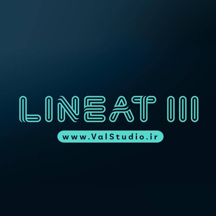 دانلود فونت انگلیسی Lineat III