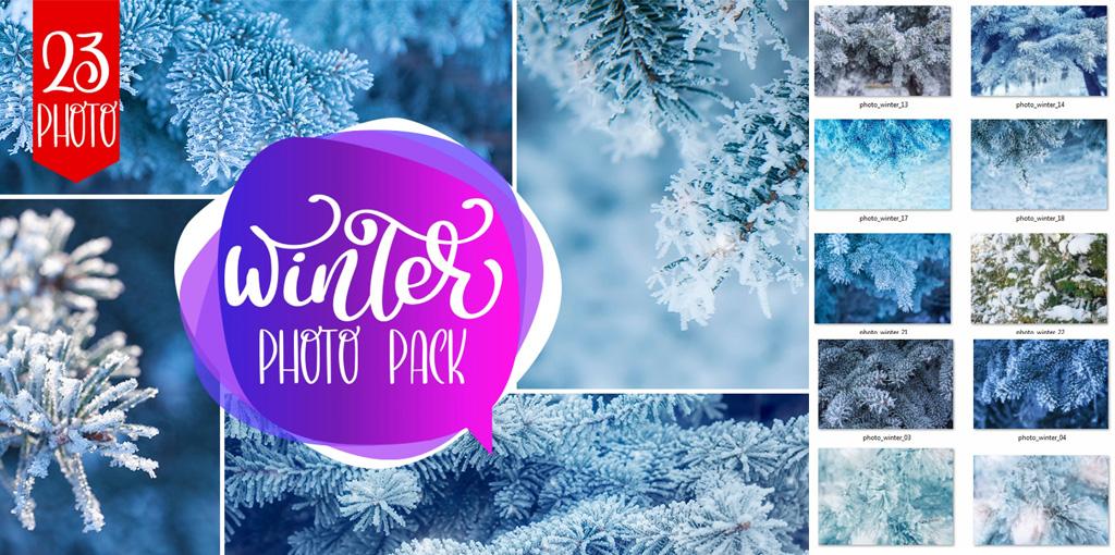 دانلود مجموعه تصاویر با کیفیت زمستان Winter Photo Pack