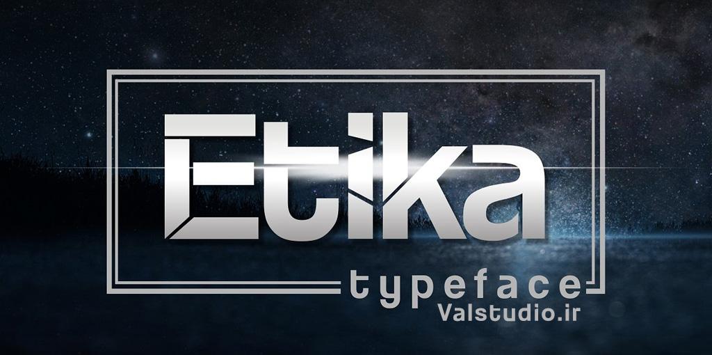 دانلود فونت انگلیسی Etika Font